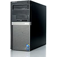 Dell Optiplex Minitower Computer 3.0 GHz Core 2 Duo, 4GB, 80 GB HDD, Windows 10 Home 64 bits (Certified Refurbished)