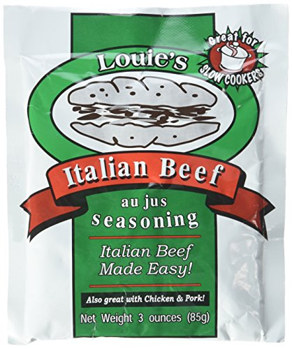 Louie's Italian Beef Seasoning, 3-ounce (Pack of 2) (Louie Italian Beef compare prices)