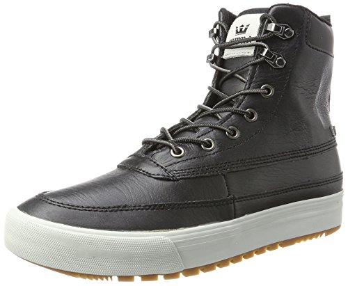 Supra Herren Oakwood Sneaker black/grey/violet