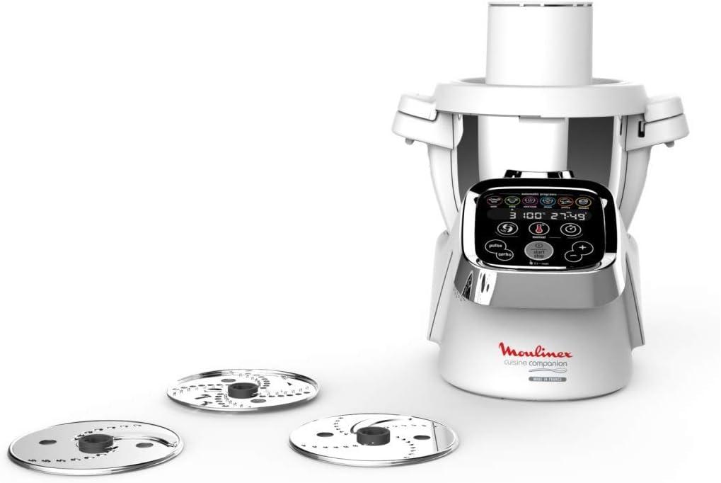 Moulinex Cuisine Companion Robot de cocina + Accesorio Cortador ...