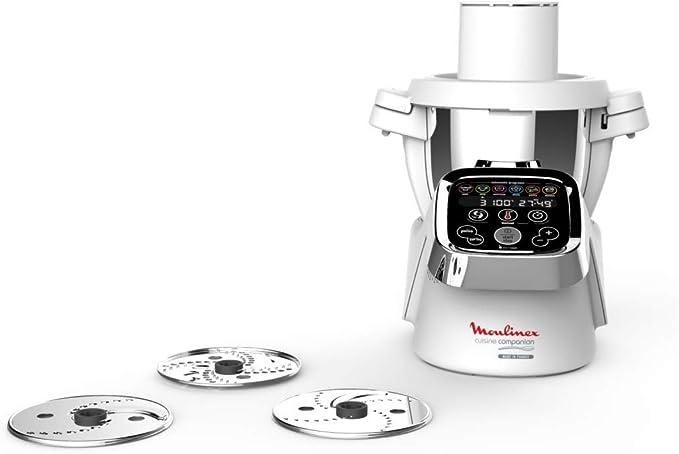 Moulinex Cuisine Companion Robot de cocina + Accesorio Cortador: Amazon.es: Hogar