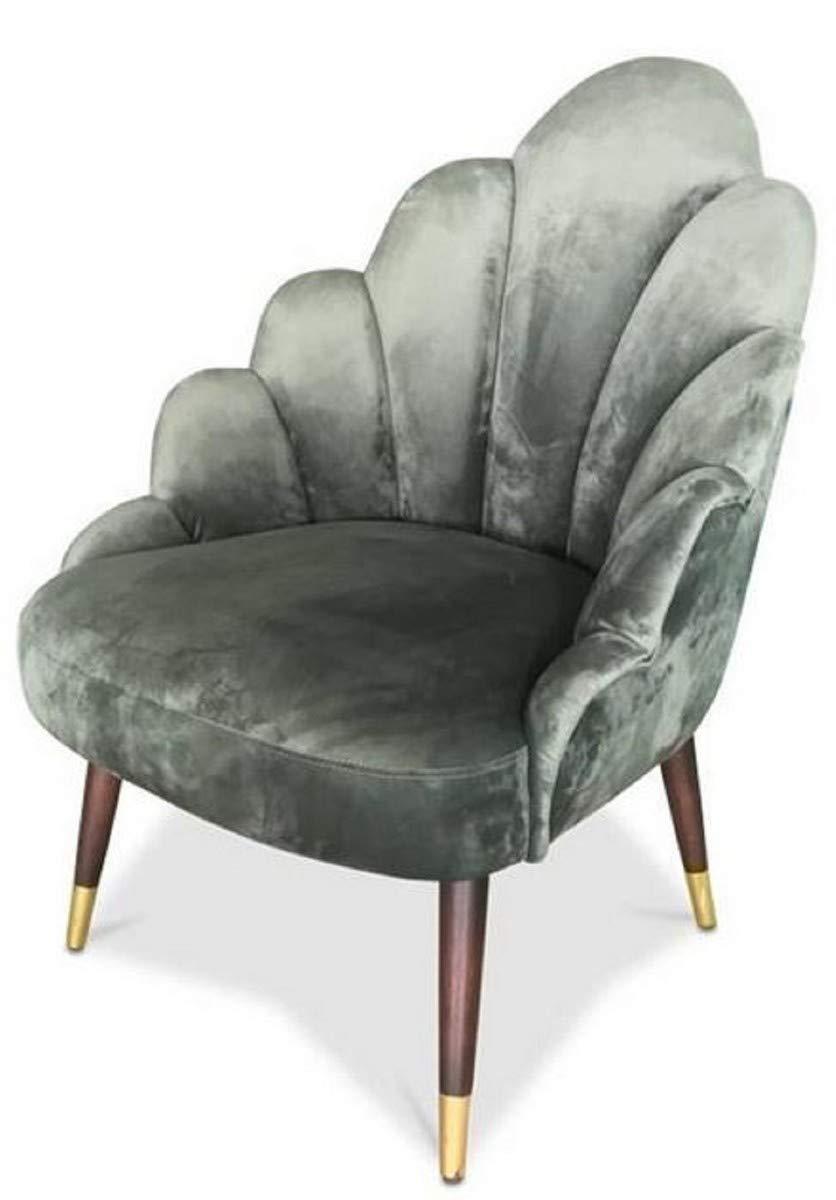Casa-Padrino sillón de Terciopelo para Sala de Estar Verde ...