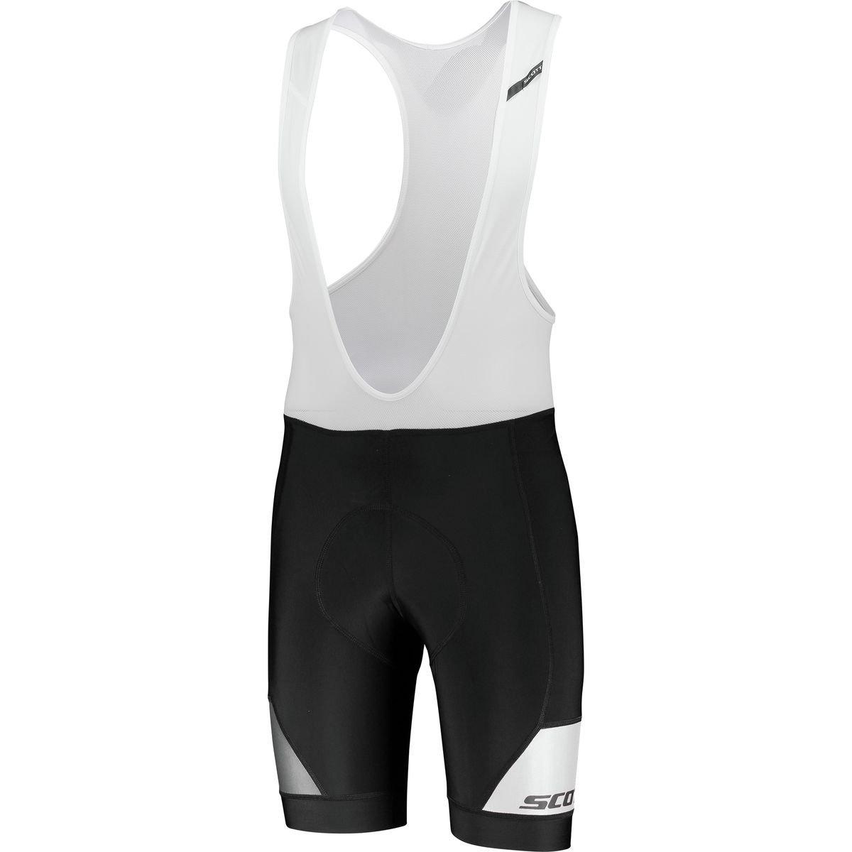 スコットRCプレミアムplus4 Bib Short – Men 's B07C3SLG2N X-Large|ブラック/ホワイト ブラック/ホワイト X-Large