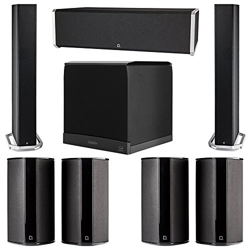 Definitive Technology 7.1 System with 2 BP9060 Tower Speaker