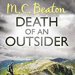 Death of an Outsider: Hamish Mcbeth, Book 3   M. C. Beaton