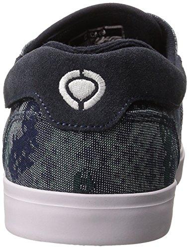 C1rca Mens Valeo Se Skateboard Schoen Camo Knit / Jurk Blauw