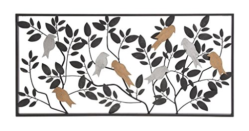 - Deco 79 Metal Wall Decor, 35 by 12