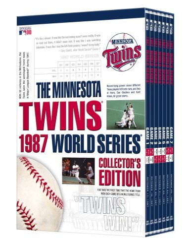 Minnesota Twins 1987 World Series Collector's (1987 Twins Team)