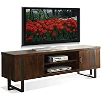 TV Console in Casual Walnut Finish