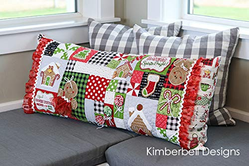 KIMBERBELL Ginger's Kitchen Bench Pillow Machine Embroidery CD KD586 by Kimberbell