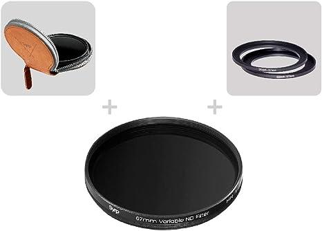 Syrp - Filtro ND (67 mm, Densidad Neutra, Reduce la incidencia de ...