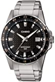 Casio Collection – Reloj Hombre Analógico con Correa de Acero Inoxidable – MTP-1290D-1A2VEF