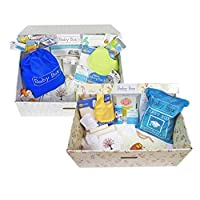 The Baby Box Co. - The Classic Box - Safe Bassinet for Newborns - Patterns Ma...