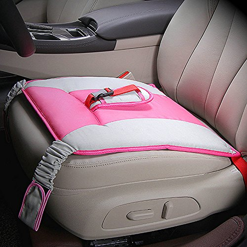 Price comparison product image MAARYEE Pregnancy Seat Bump Belt Car Seat Cushion Cover Pad Maternity Car Safety Belt Cushion for Pregnant Women (pink)
