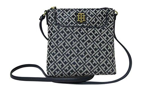 Tommy Hilfiger Womens Crossbody Bag Small Bag (Navy - On Hilfiger Tommy Sale Handbags