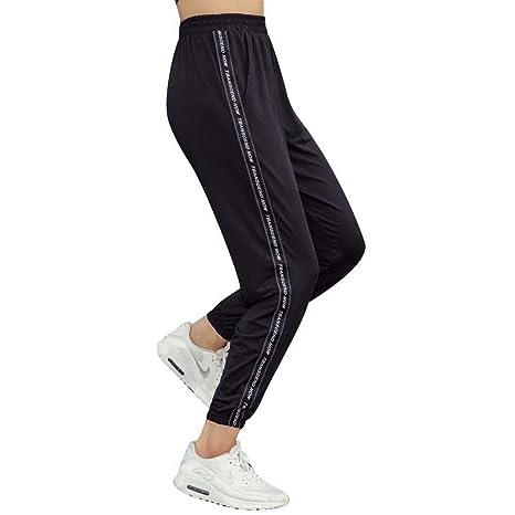BFCK Pantalones Deportivos de Mujer Pantalones de Yoga de ...