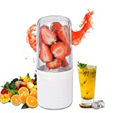 Oceanflowery Personal Blender Portable Blender Shakes and Smoothies, USB Rechargeable Smoothie Blender On The Go, Detachable Portable Blender Fruit Mixer ,Battery Smoothie Blender Cup Body Separable Design Case for Girl Women Children Summer Outgoing Travel