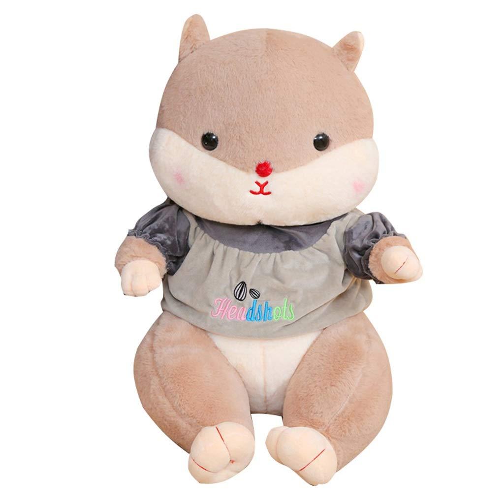 3 80CM Pezza Bambole Giocattolo della Peluche del Criceto Sveglio Bambola del Cuscino Bambola di Ragbambola Ragazza Che Dorme Cuscino del Letto Regalo di Compleanno dei Bambini (edizione    2, Dimensione   80CM)