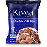 Kiwa Andean Potato Chips Mix (12 Pack, 4 Oz. Bag) All Natural Plant Based, Sustainably Sourced, Non-GMO, Gluten Free, Savory Snack
