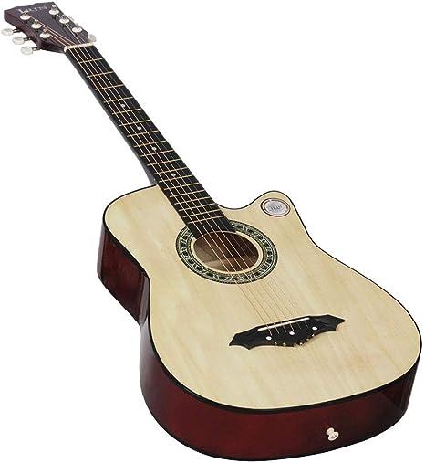 EASON Guitarra de Arce de 38 Pulgadas con Banda Sonora para ...