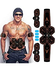 Abs Trainer,Muscle Toner,Abdominal Toning Belts EMS Abs Trainer Body Fitness Trainer Gym Workout And Home Fitness Apparatus