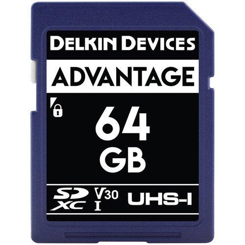 ory Card 633x (V30) [DDSDW63364GB] (Delkin Devices Secure Digital Card)