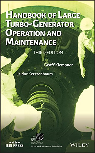 (Handbook of Large Turbo-Generator Operation and Maintenance (IEEE Press Series on Power Engineering) )