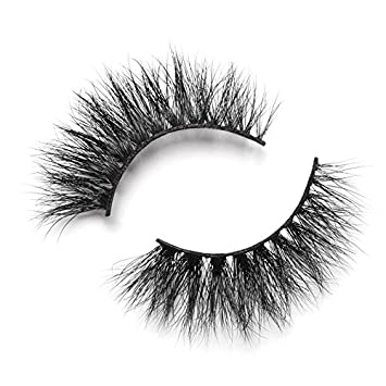 beaec2b3802 Lilly Lashes 3D Mink Carmel | False Eyelashes | Dramatic Look and Feel |  Reusable