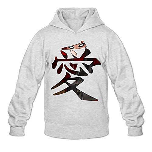 CYANY Japanese Comic Character Gaara Love Naruto Shippuden Women's Custom Hoodies Sweatshirt MAsh