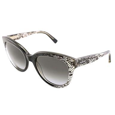Amazon.com: Valentino anteojos de sol de la mujer ronda ...