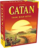 Your adventurous settlers seek to tame the remote but rich isle of Catan. Start by revealing Catan's many harbors and regions: pastures, fields, mountains, hills, forests, and desert. The random mix creates a different board virtually every game.   ...