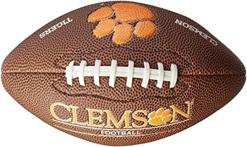Tigers Mini Football (NCAA Clemson Tigers Team Football, Mini, Brown)