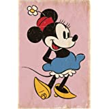 Posters: Minnie Mouse Poster - Retro (36 x 24 inches)