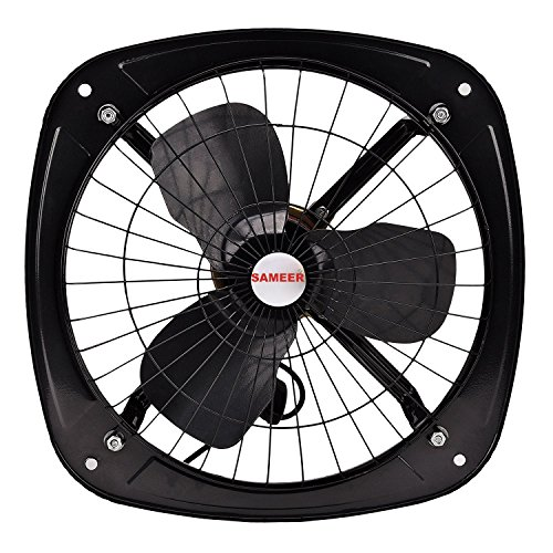 Sameer 300mm High Speed Ventilation Exhaust Fan (Black)