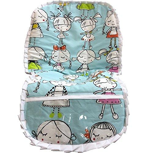 colchoneta silla beb kekas azul: Amazon.es: Handmade