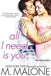 All I Need is You: The Alexanders, Book 4 (Contemporary Romance, Romantic Suspense) (English Edition)