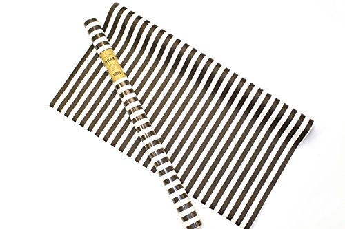 Stripe Matte (Becky Higgins 819408010180 Stripes Stone Wrap, Black/White, 30