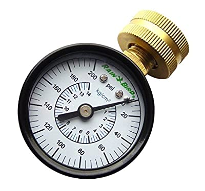 NEW Rain Bird P2A - Pressure Gauge
