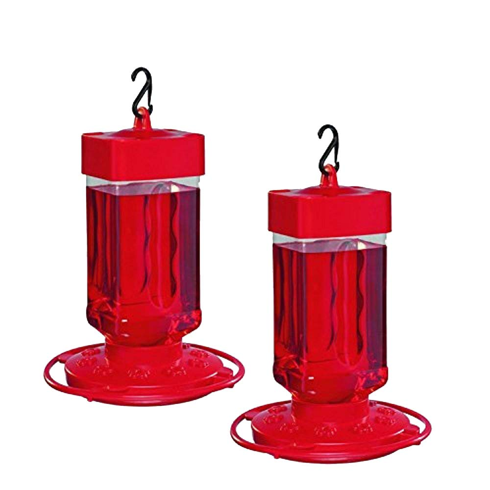 2 Pack First Nature 32 oz Hummingbird Feeder 3055 Easy Clean