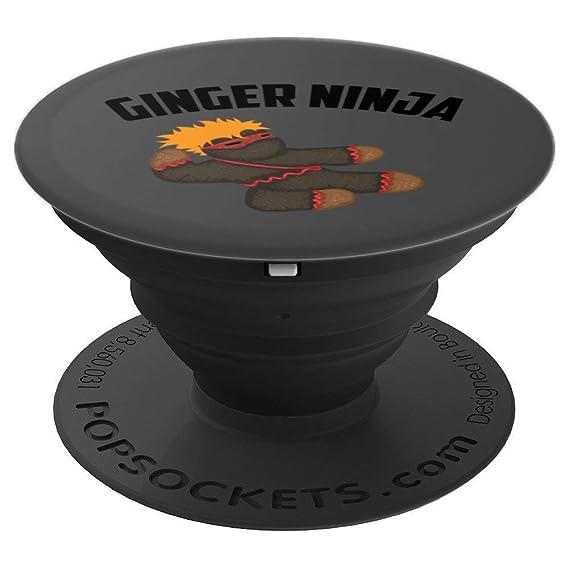 Amazon.com: Ginger Ninja Art | Cute Red And Orange Ninja ...