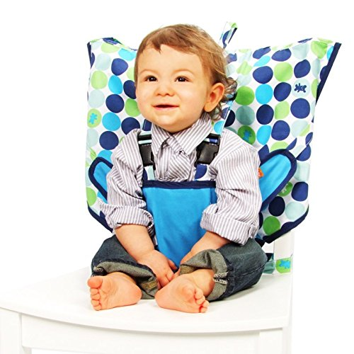 My Little Seat Travel Highchair - Biggy Buttons by My Little Seat