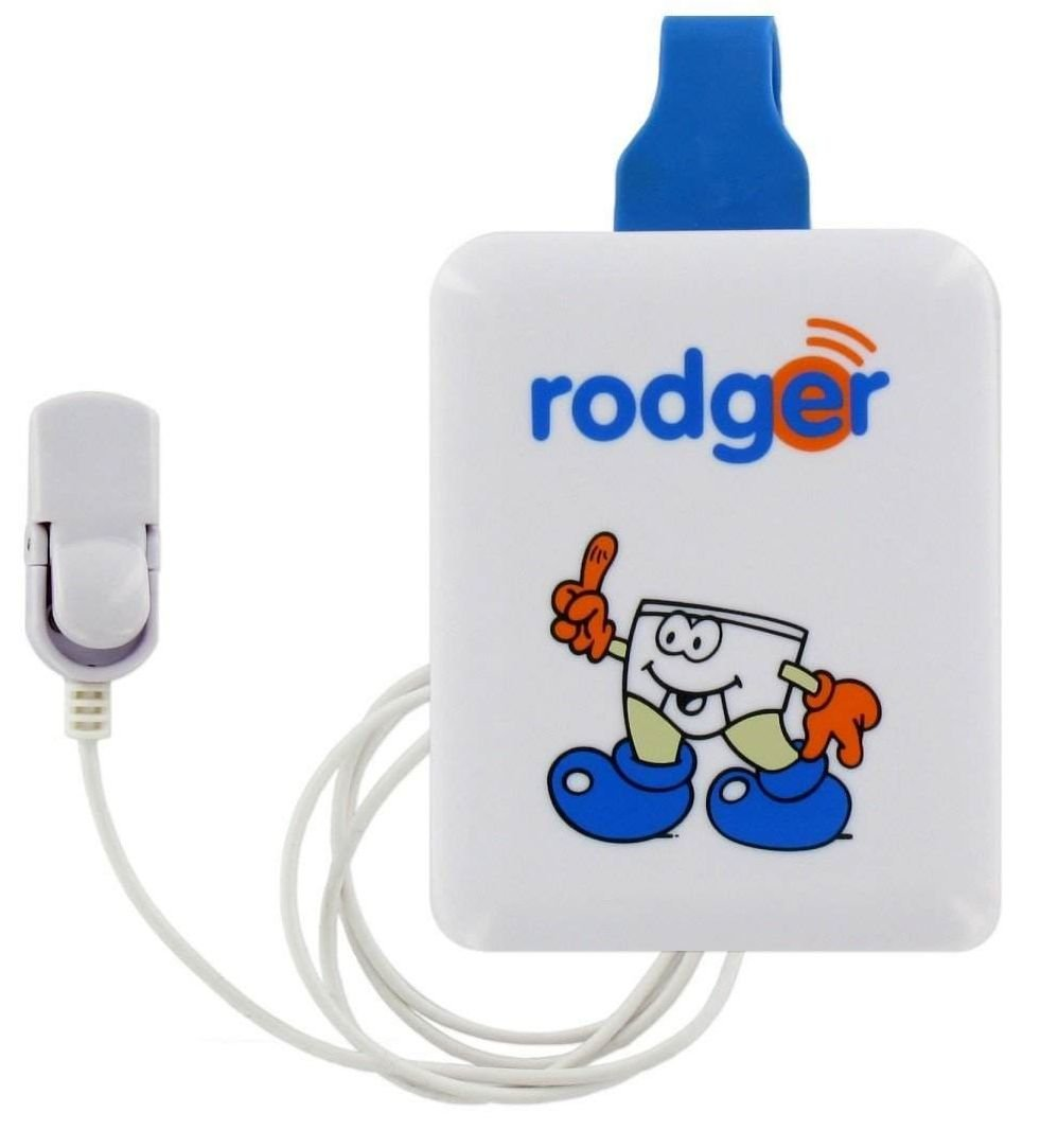 Rodger Clippo Bedwetting Enuresis Alarm with Sports Skins Pack [Health and Beauty]