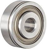 "Nice Ball Bearing 7508DL Heavy Duty Double Sealed, 52100 Bearing Quality Steel, 0.5000"" Bore x 1.7500"" OD x 0.7500"" Width"