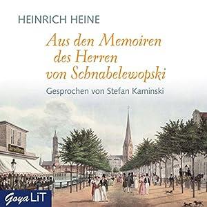 Aus den Memoiren des Herren von Schnabelewopski Hörbuch