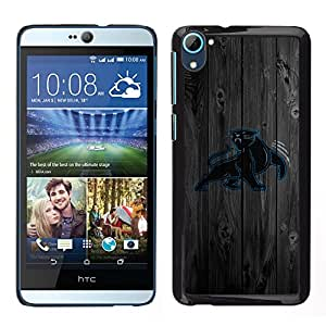 Design for Girls Plastic Cover Case FOR HTC Desire D826 Carolina Panther Football OBBA