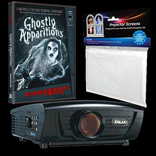 BACK FROM THE GRAVE Digital Halloween Decorations - Digital Galaxy & AtmosFEARfx's Ghostly Apparitions Bundle Haunted House Video Projection Effects -