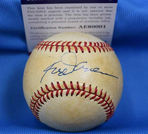 (ROD CAREW PSA DNA Coa Autograph American League OAL Hand Signed Baseball)