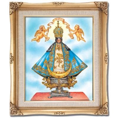 Our Lady of San Juan de los Lagos Framed Art by Discount Catholic Store