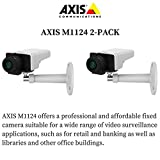Axis M1124 2-PACK - 0747-001 Network Camera for Day/Night with HDTV 720p