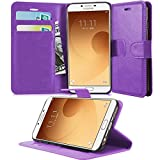 N+ INDIA SAMSUNG GALAXY A9 / A9 PRO PINK LEATHER WALLET FLIP CASE COVER POUCH FOR SAMSUNG GALAXY A9 / A9 PRO